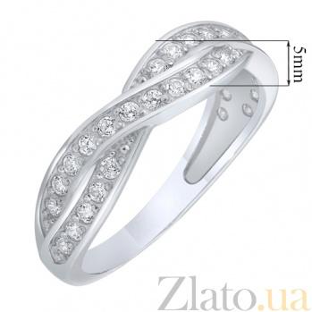 Серебряное кольцо Связь AUR--81517б