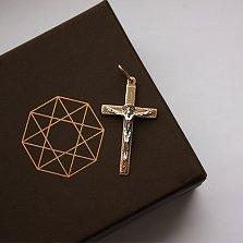 Золотой крестик Духовный покровитель