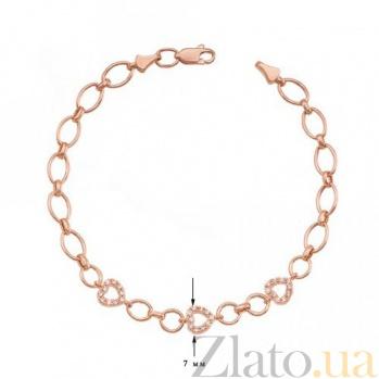 Золотой браслет Виталия 07504