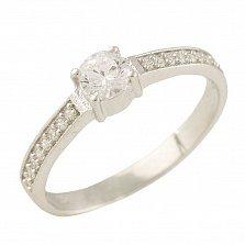 Серебряное кольцо Глорис с фианитами