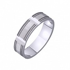Золотое обручальное кольцо Винтаж