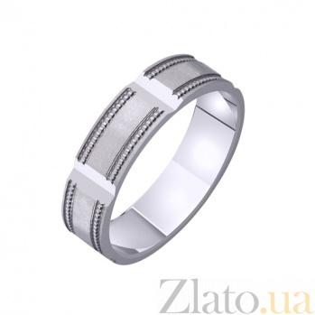 Золотое обручальное кольцо Винтаж TRF--421558