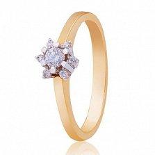 Золотое кольцо Снежинка