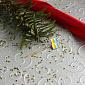 Золотая булавка Флаг Украины LEL--09023