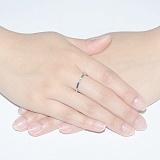 Кольцо из белого золота Холидей