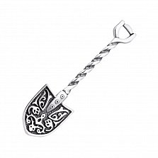 Серебряный сувенир лопата-загребушка 000125517