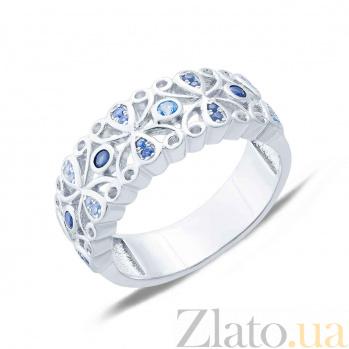 Серебряное кольцо с фианитами Мартина AQA--KHR-0056-1T