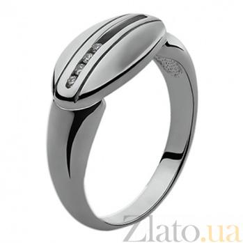 Серебряное кольцо с бриллиантами Ориона 79100899