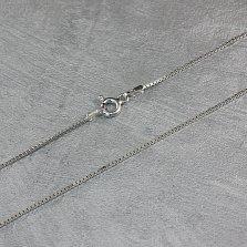 Серебряная цепочка Элизабет венецианского плетения