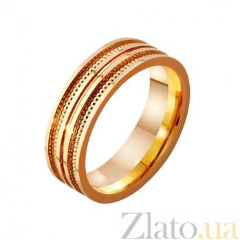 Золотое обручальное кольцо Мое солнце TRF--4111142