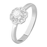 Золотое кольцо с бриллиантами Зимний карнавал