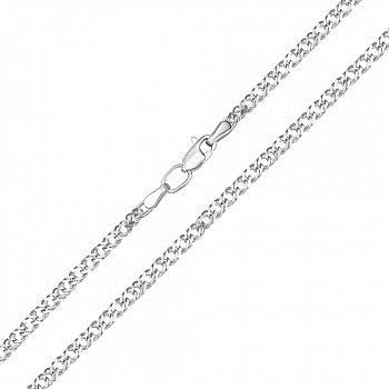 Серебряная цепочка в плетении ромб, 2 мм 000117778