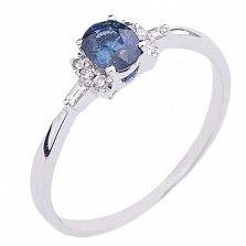 Золотое кольцо с сапфирами и бриллиантами Особый случай