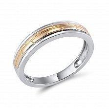 Кольцо Честность из комбинированного золота