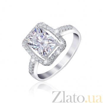 Серебряное кольцо с фианитами Делайт 000025503