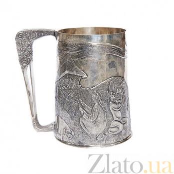 Серебряная кружка Украинское село 1424