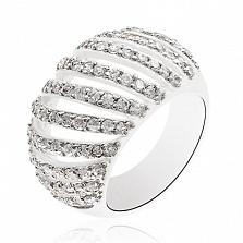 Серебряное кольцо Lavinia с цирконием