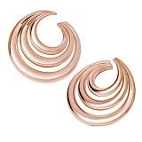 Серьги Serpenti из розового золота