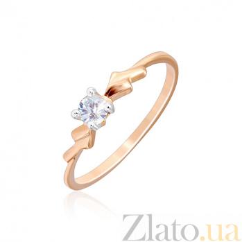 Серебряное кольцо с фианитом Ваен 000028183
