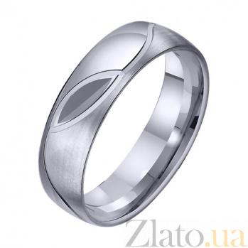 Золотое обручальное кольцо Слова любви TRF--411704