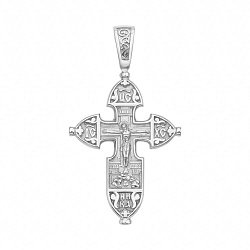 Серебряный крестик 000117926