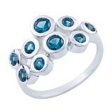 Кольцо из серебра Анджали с топазом лондон