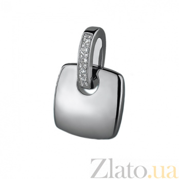 Серебряный кулон с бриллиантами Милос 79300399