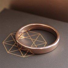 Серебряное обручальное кольцо Амрит с позолотой
