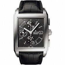 Часы Maurice Lacroix коллекции Rectangle Chrono 3 counters