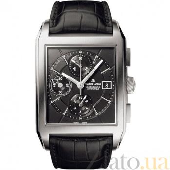 Часы Maurice Lacroix коллекции Rectangle Chrono 3 counters MLX--PT6197-SS001-330