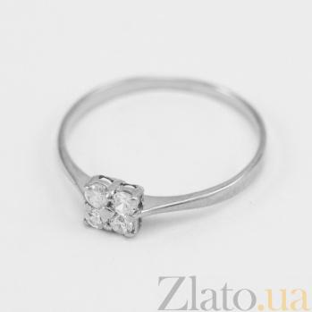 Кольцо из белого золота с фианитами Джуна VLN--212-1567*