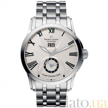 Часы Maurice Lacroix коллекции Pontos Grand Guichet GMT MLX--PT6098-SS002-110