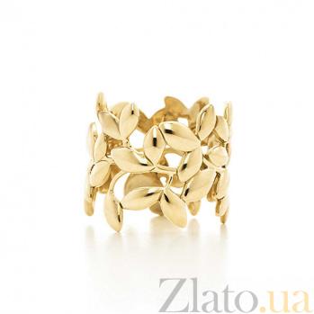 Кольцо из желтого золота Paloma Picasso большая модель R-Tif(Paloma)-E-big
