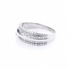 Серебряное кольцо Зейфира с фианитами