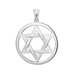 Серебряная подвеска Звезда Давида 000149573