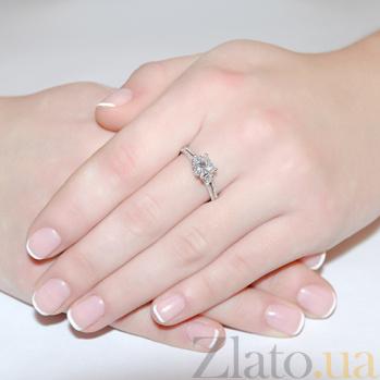 Кольцо из белого золота Мadlen с бриллиантами R0222