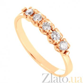 Золотое кольцо с фианитами Енисей VLN--212-1264