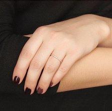 Кольцо в красном золоте Сия с бриллиантами
