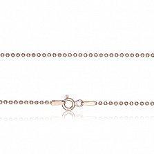 Серебряная цепь Лидия с позолотой