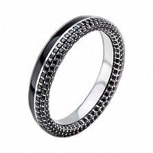 Мужское золотое обручальное кольцо Вдохновленные друг другом с бриллиантами и эмалью