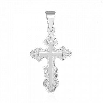 Серебряный крестик Гармония 000039622
