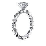 Кольцо из белого золота с бриллиантами Очарование