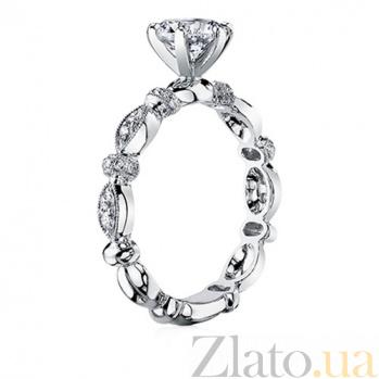 Кольцо из белого золота с бриллиантами Очарование 763