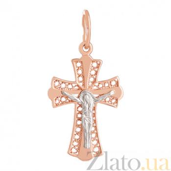Крестик из золота Православные традиции VLN--314-1143