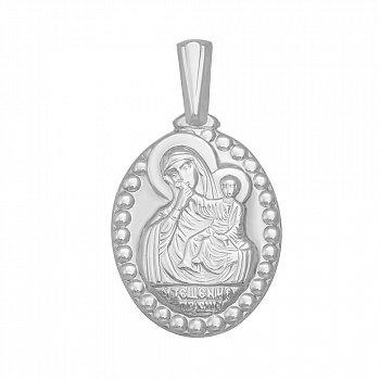 Серебряная ладанка Божья Матерь Утешение 000119565