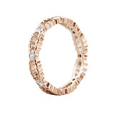 Обручальное кольцо из розового золота Загадки Галактики: Стремительный порыв