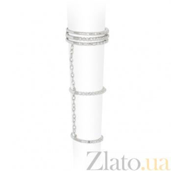 Золотое кольцо с бриллиантами Дениза 1К441-0257