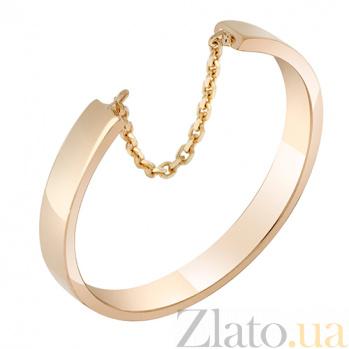 Золотое кольцо Скорость в красном цвете 000032654