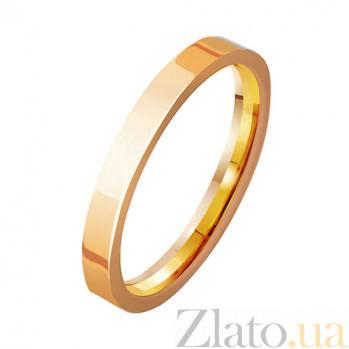 Золотое обручальное кольцо Semper Amemus TRF--411931