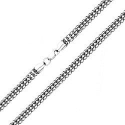 Серебряный браслет в плетении питон 000134417, 5мм